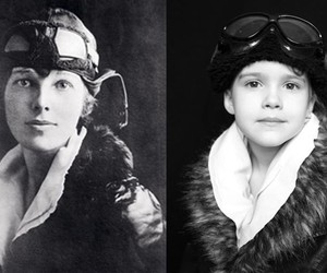 Daughter Photographed as History&#39;s Iconic Women