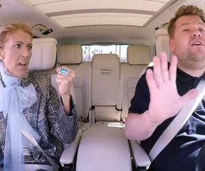 James Carpool Karaoke with Celine Dion