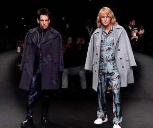 Derek Zoolander and Hansel Walk Runway