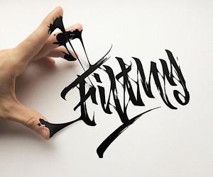 Calligraphy of Dima AbraKadabra