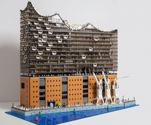 Florian Müller recreates the Elbphilharmonie
