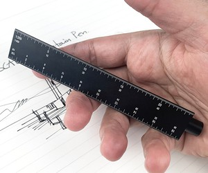 ESCALA: Scale-Ruler Fountain Pen