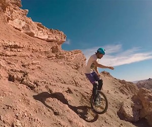 Not The Circus: Extreme Mountain Unicycling