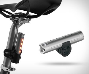 Fabric USB Bike Light