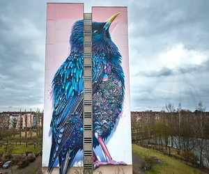 New Mind-blowing Mural at Art Park Tegel // Berlin