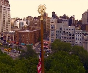 First Flight of the Phantom – Quadcopter in NYC