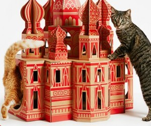 Fun and colorful houses for your pets