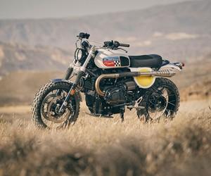 Fuel Bespoke Motorcycles' Coyote Motorcycle