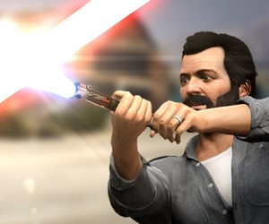 GTA V Lightsaber Battle