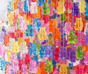 Chandelier Made From 5,000 Gummy Bears