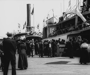 100 year old video from New York