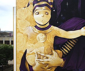 Chilean street artist reveals the consequences...