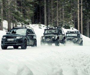 "Footsteps of ""Specter"" with Jaguar Land Rover"