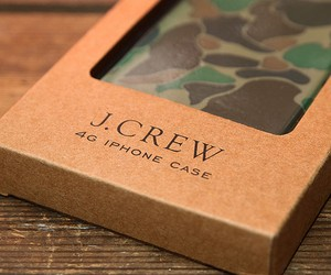 J. Crew 'Cloud Camouflage' Rubber iPhone 4G Case