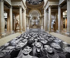 """JR Installs New InsideOut Project """"Au Panthéon"""""""