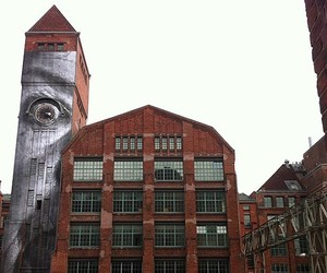"JR New ""Wrinkles In The City"" Murals In Berlin"