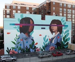 """Mural """"Kindred"""" by Sabek"""