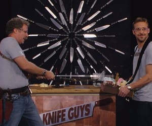 Will Ferrell and Ryan Gosling are the 'Knife Guys'