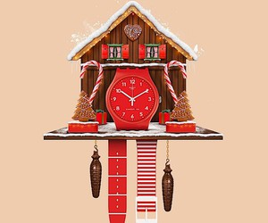 Dot Pigeon designs a Swatch cuckoo clock