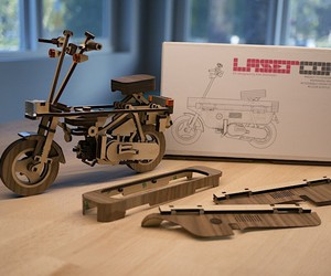 Honda Motocompo for DIY - a great craft fun