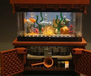 Almost alive LEGO aquarium
