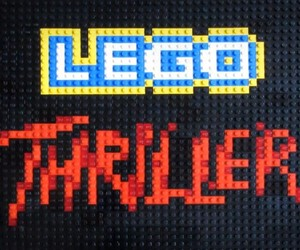 """Thriller"" Animation Made Out of Lego"