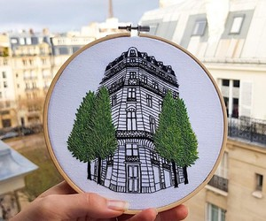 LE KADRES CITY VIEWS IN STICKER FRAME