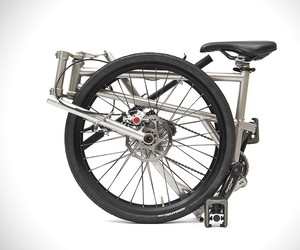 Helix Titanium Folding Bicycle