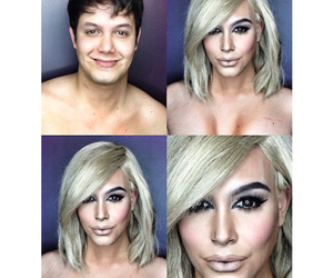 Artist Transforms Himself Into Female Celebrities