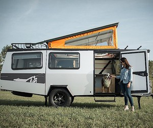 The practical adventure camper Mantis by TAXA