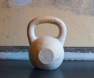Real Marble Kettlebells