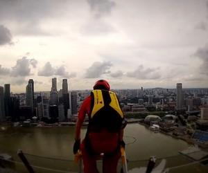 Marina Bay Sands Skypark BASE Jump (Singapore)
