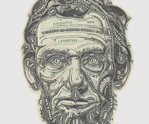 Mark Wagner Dollar Bill Collages
