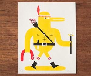 Matthew Bromley Risograph Print