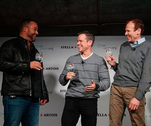 Matt Damon Teams Up With Stella Artois for Charity