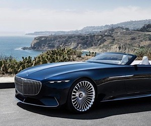 Mercedes-Maybach presents luxury convertible