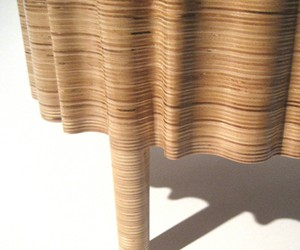 Furnitures made of layer