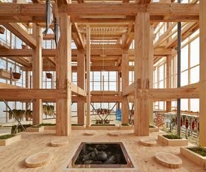 Nest We Grow by UC Berkeley + Kengo Kuma