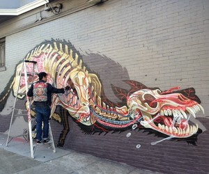 Nychos New Mural in San Francisco // USA