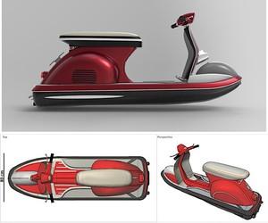 Concept for a jet vespa