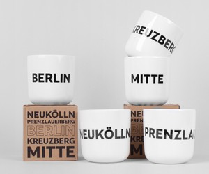 Mitte, Kreuzberg or Neukölln? The Play Type mugs