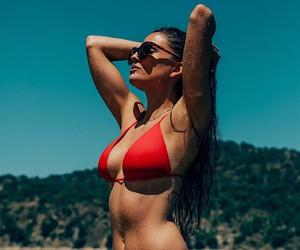 Rocío Nieto in the California sun