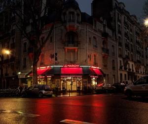 Red Light — Parisian Cafés in Rainy Nights