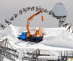 Snowboarding In An Abandoned Ski Resort