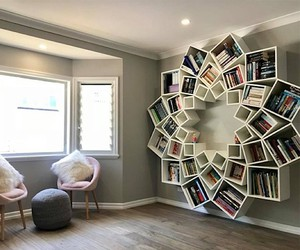 Jessica and Sinclair Breen build a spiral shelf