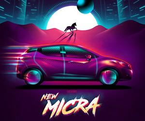 Van Orton Design is applying the new Nissan Micra