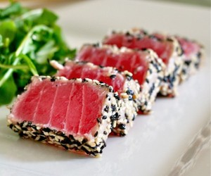 Sesame Crusted Seared Ahi Tuna