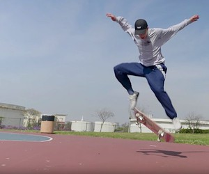 "Diego Nájera with adidas skate part ""Adelante"""