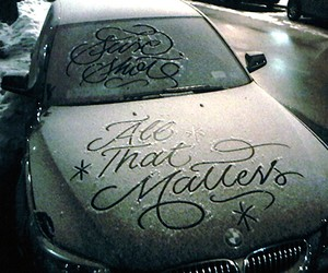 Typography: Snow Script by Faust New York