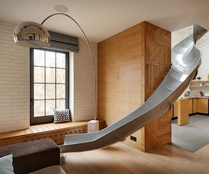 In Slide apartment you slip into everyday life